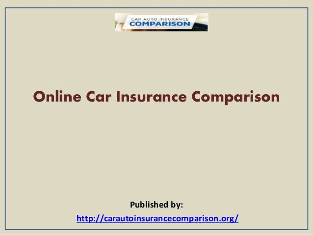 Online Car Insurance Comparison