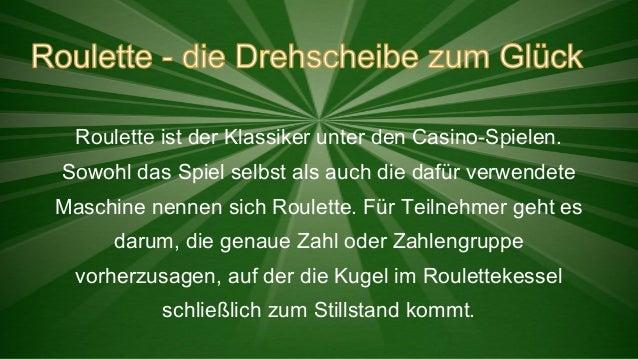Roulette ist der Klassiker unter den Casino-Spielen. Sowohl das Spiel selbst als auch die dafür verwendete Maschine nennen...
