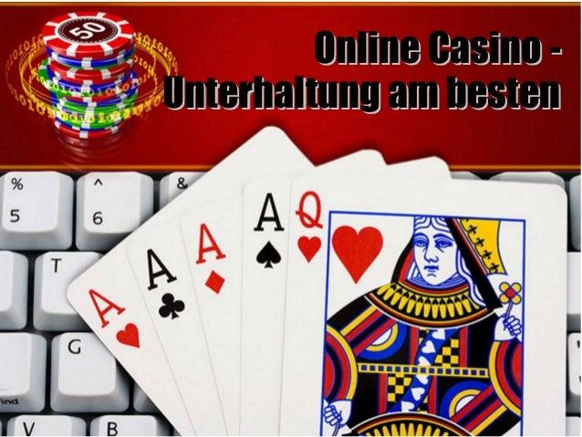 Online Casino -Online Casino - Unterhaltung am bestenUnterhaltung am besten