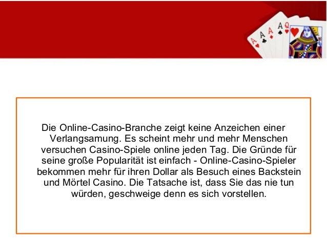 am besten online casino