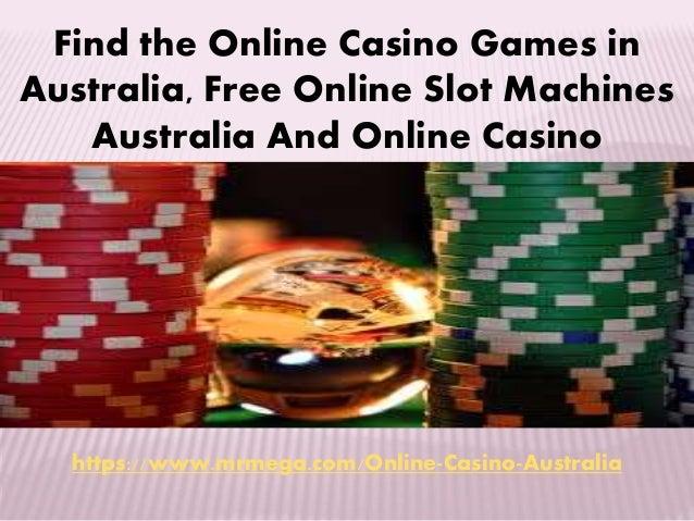Casino Games Australia
