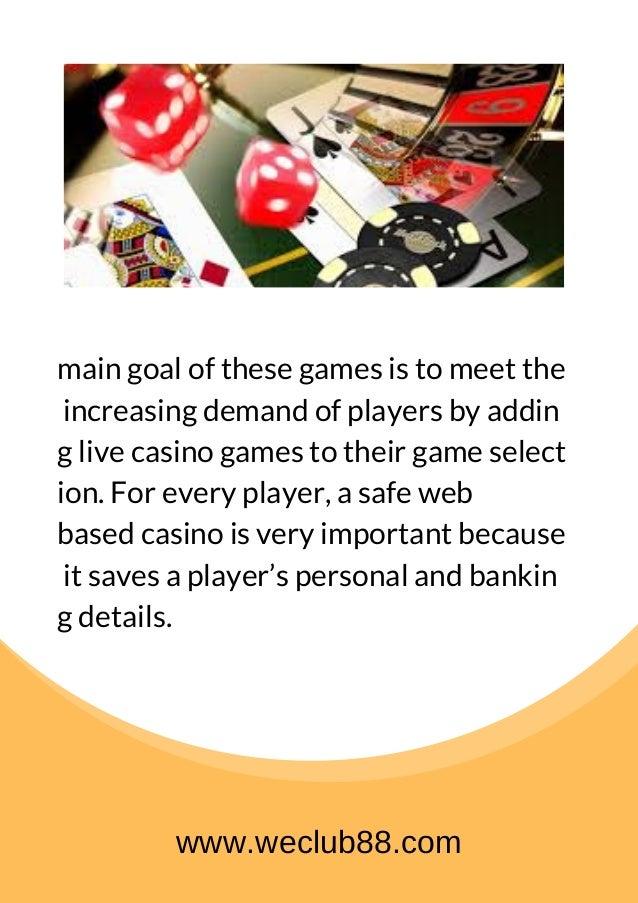 Trusted Online Casino Malaysia Weclub88