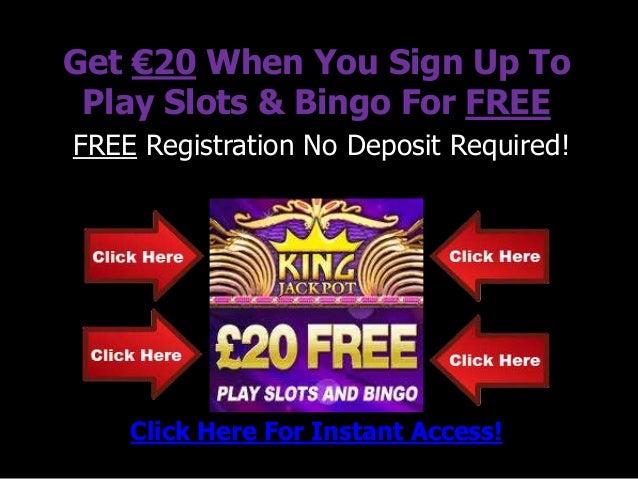 Casino Signup Bonus No Deposit