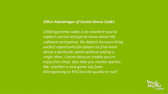 free online casino promo codes