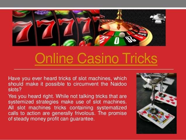 tricks casino online