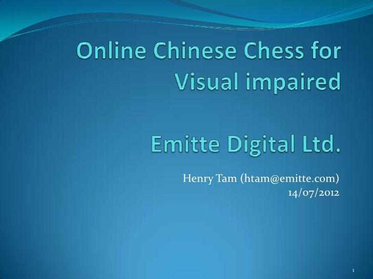Henry Tam (htam@emitte.com)                 14/07/2012                              1