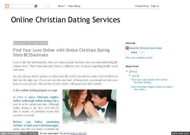 christian dating singles service