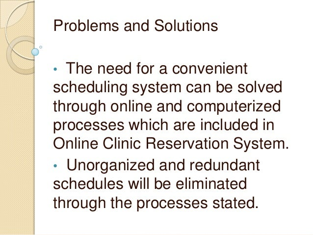 online reservation system existing problem Online booking on the net - problems, issues and solutions  online brochures as it is done by many existing tourist information systems, is by far  information.