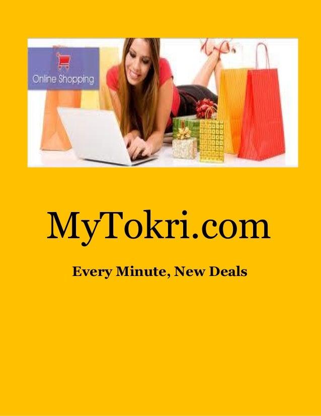 MyTokri.com Every Minute, New Deals