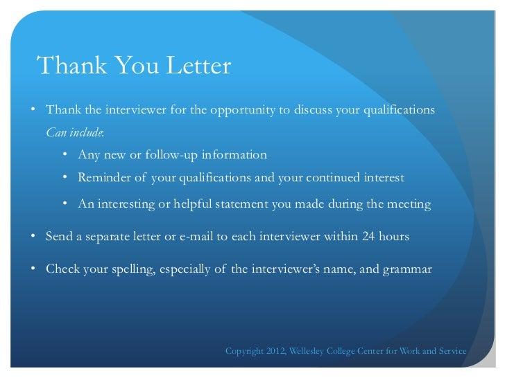 Cover Letter Online Workshop