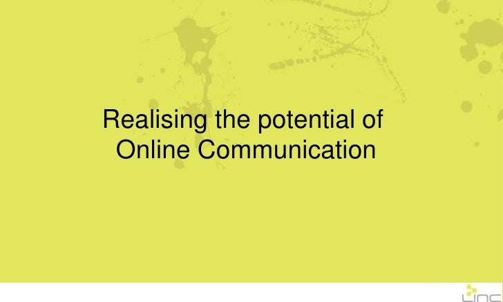 Online Communication Breakfast Presentation