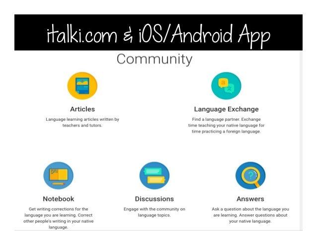 italki.com & iOS/Android App