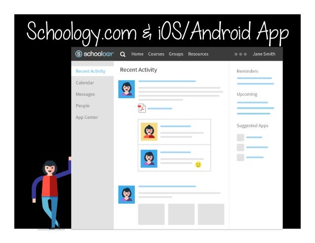 Schoology.com & iOS/Android App