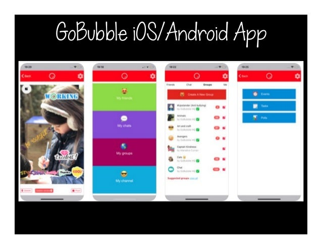 GoBubble iOS/Android App