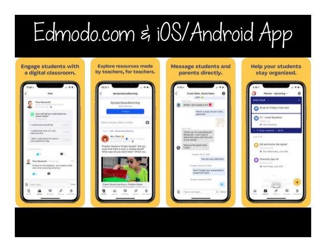 Edmodo.com & iOS/Android App
