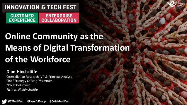 Online	Community	as	the	
