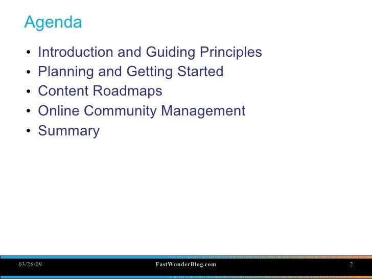 Online Community Training Slide 2