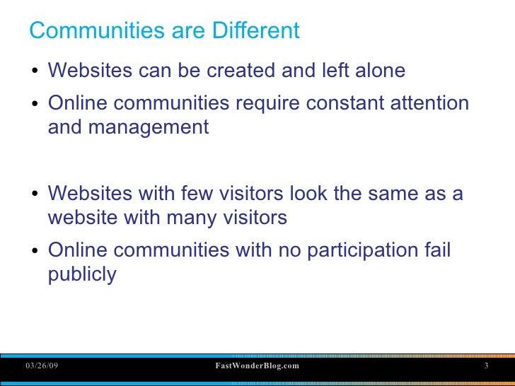 Online Community Training Slide 3