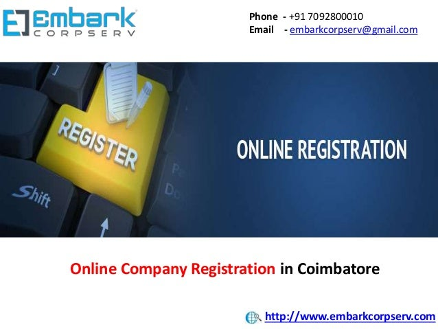 Phone - +91 7092800010 Email - embarkcorpserv@gmail.com Online Company Registration in Coimbatore http://www.embarkcorpser...