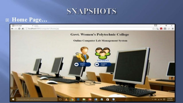 computer lab management system ppt