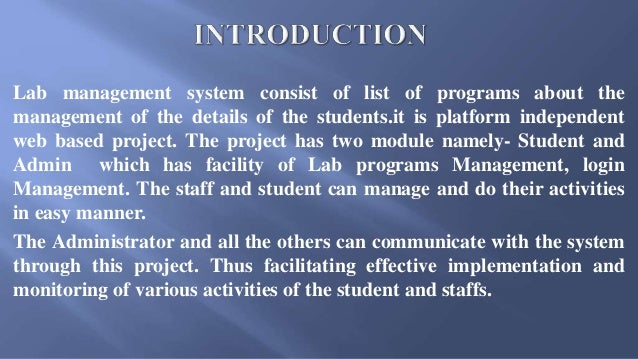 online computer labs monitoring system Thesis in internet cafe monitoring system topic: cafe suite internet cafe management system introduction the software is online computer labs monitoring system.