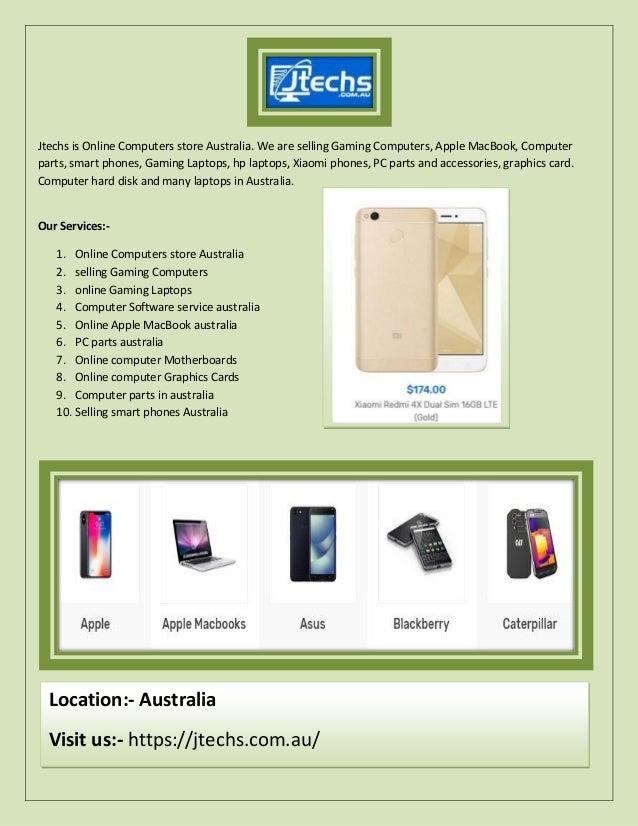 Online computers parts, smart phones store in australia j