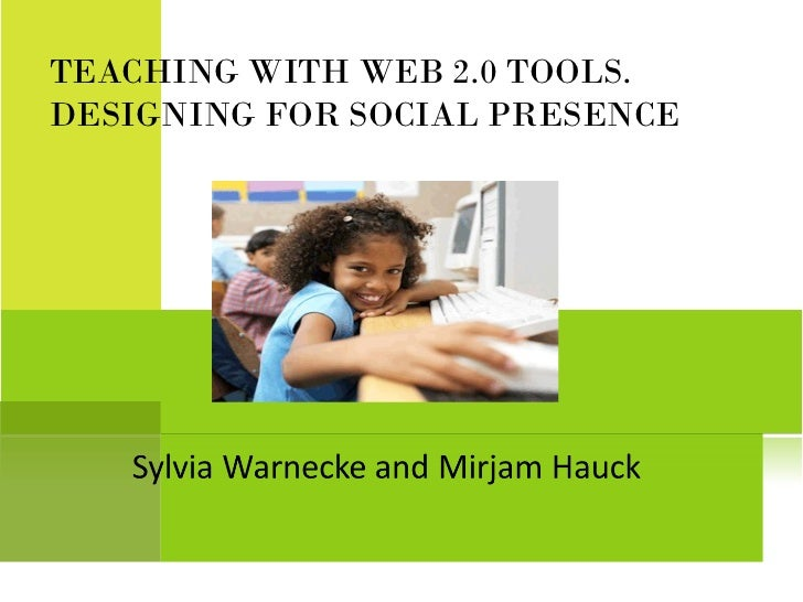 Online course  social presence presentation