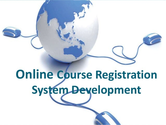 online registration system project pdf