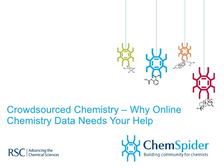 Crowdsourced Chemistry – Why Online Chemistry Data Needs Your Help