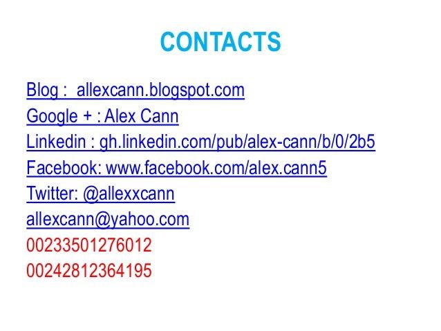 online cv alex cann