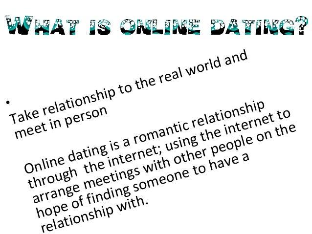 Er online dating trygt essay