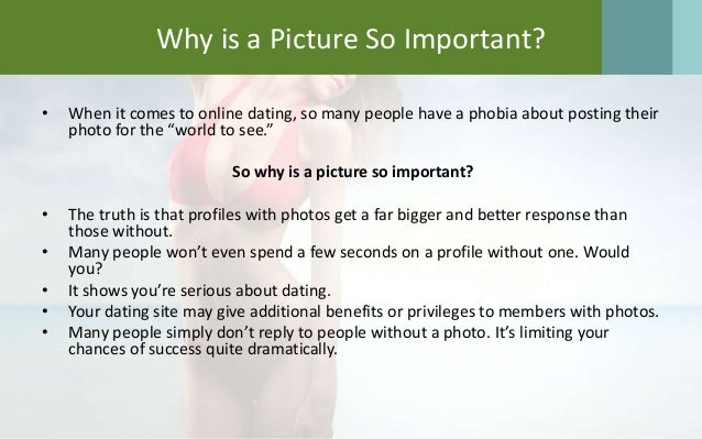 Pro and con of dating online