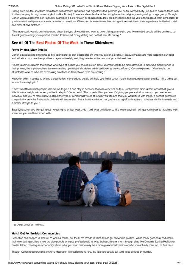 best dating websites 101