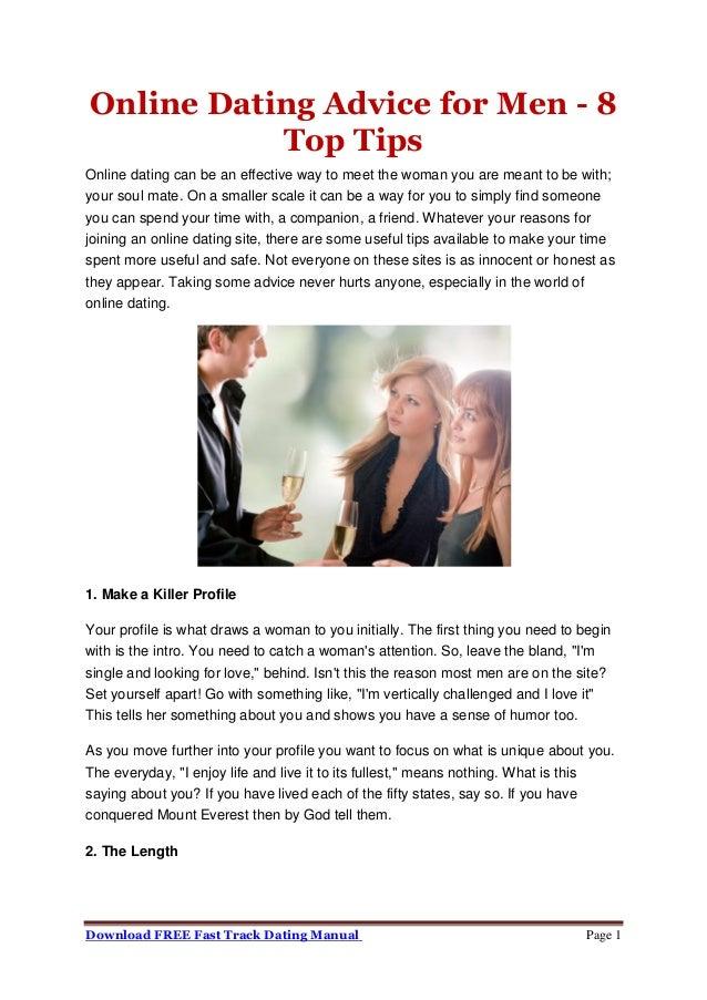 男性のための最良の出会いのアドバイス
