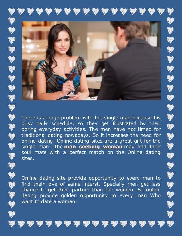 single man online dating