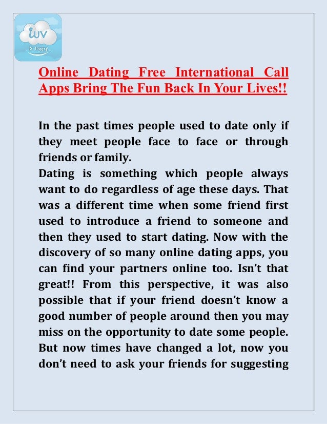 Call people online