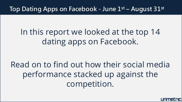 Free dating apps on facebook