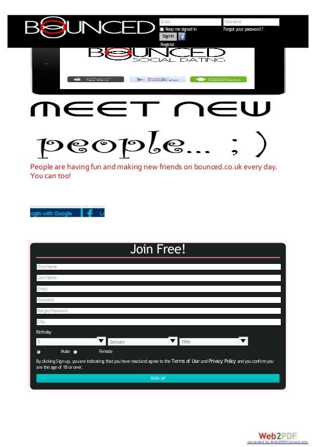 Kjepphøy og morsom dating profil