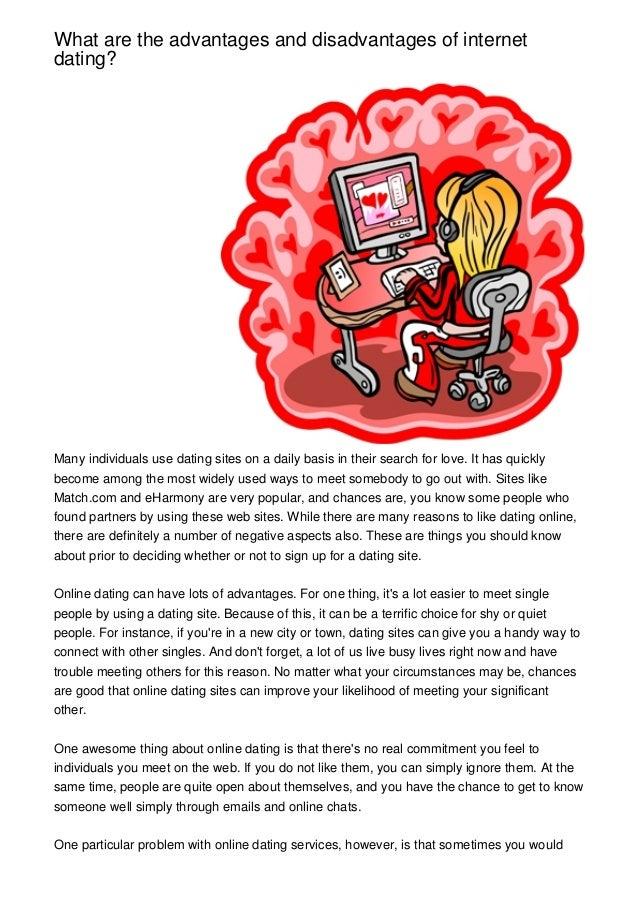 Essay on disadvantages of online dating