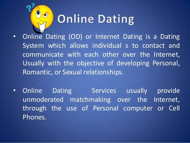 interenet dating