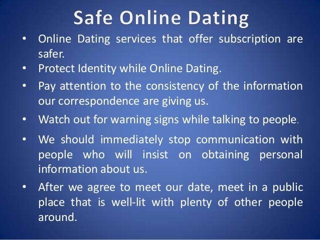 Online dating identity