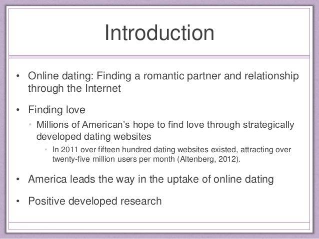 Online dating population