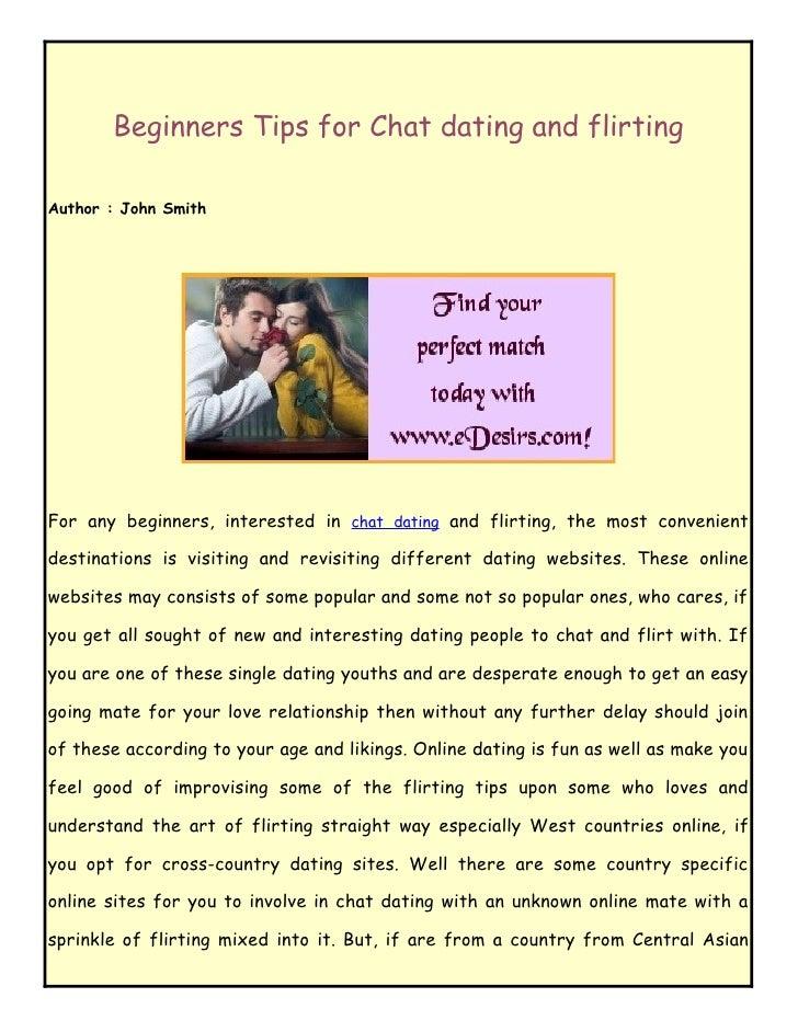 Flirt online dating &amp