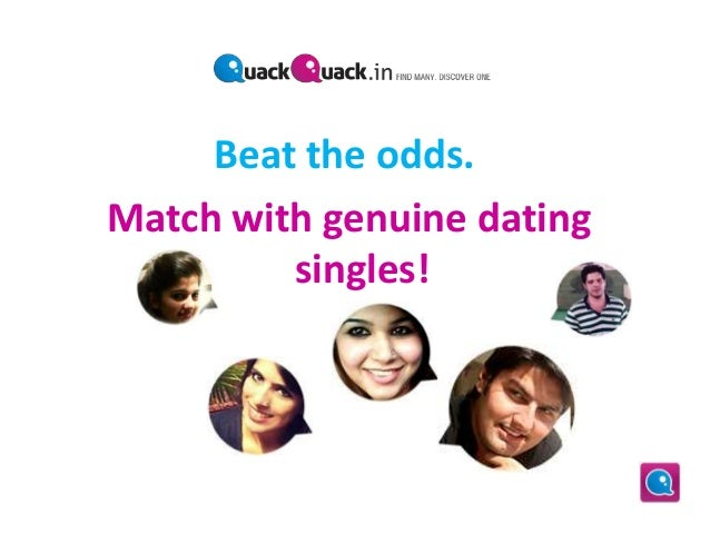 Dating site quack quack