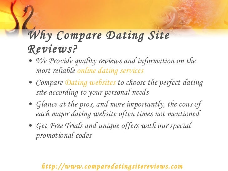 Pros and cons of online dating services