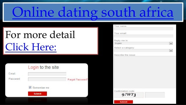 South african online dating