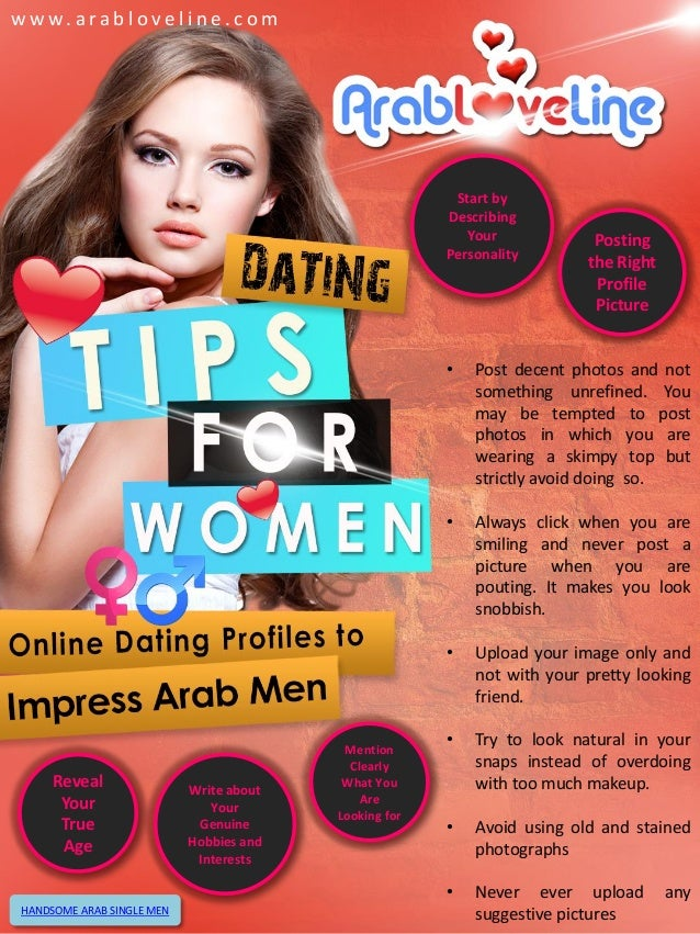Tips for online dating for men