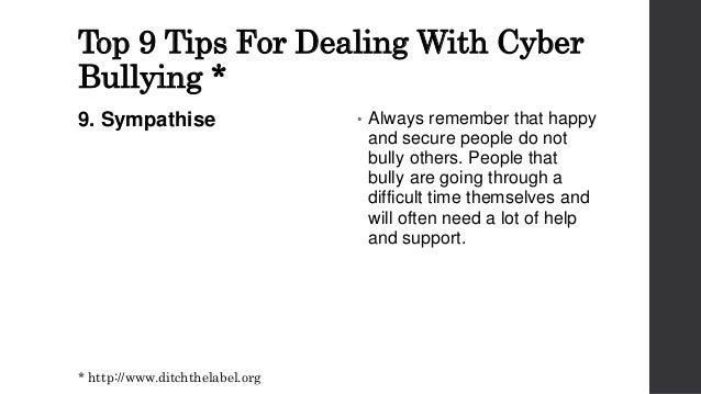 Cyber defamtion.