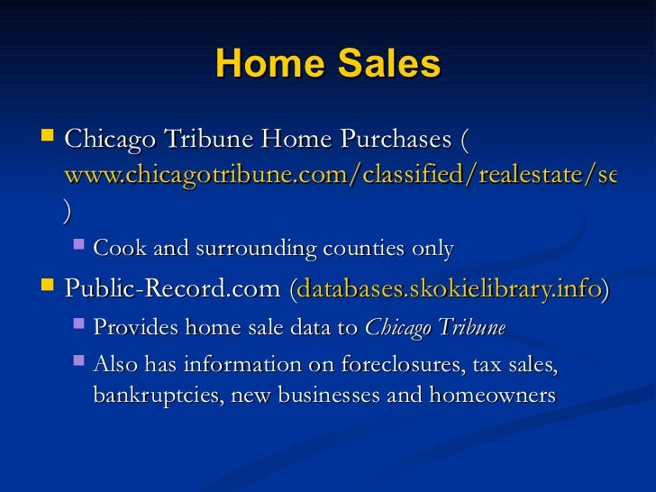 Lookup Who Owns A Property Cook County