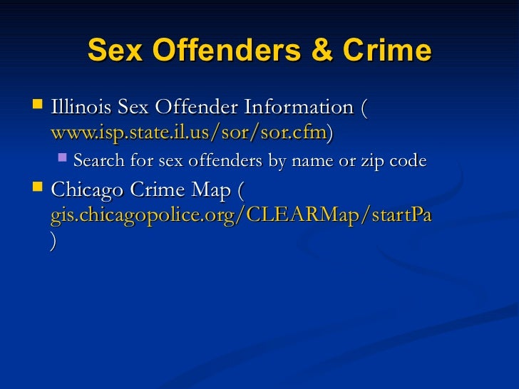 faulkner county sex offender map by zip code in Chicago